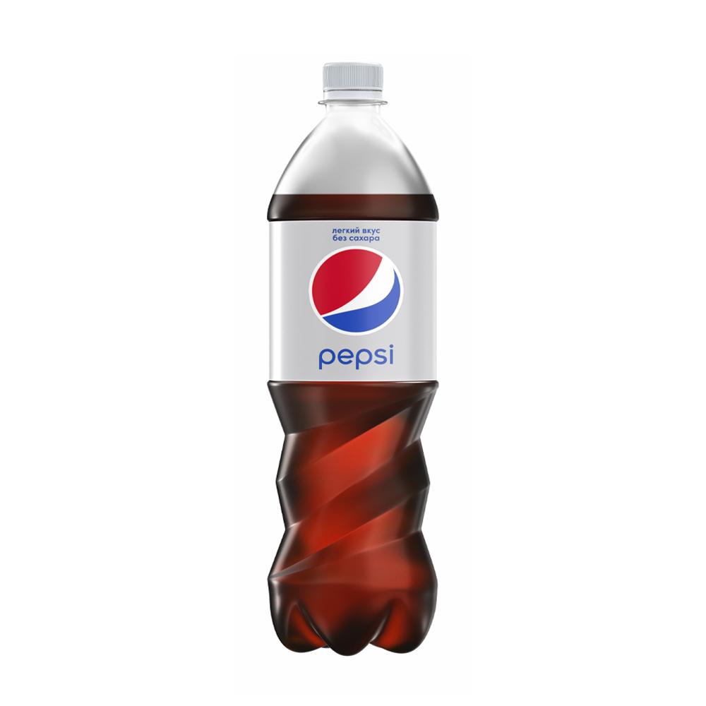 Напиток газированный безалкогольный, Pepsi, без сахара, 1 л