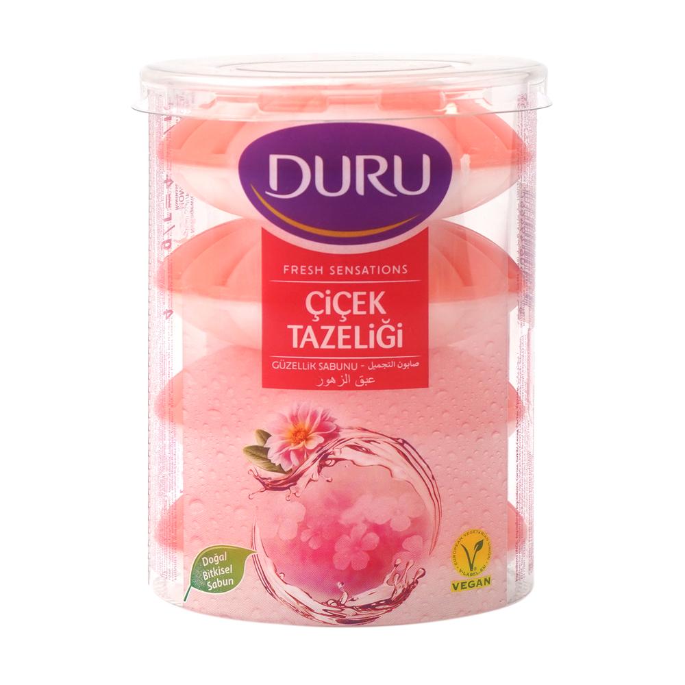 """Туалетное мыло """"Fresh Sensations"""", Duru, 4х110 г, в ассортименте"""