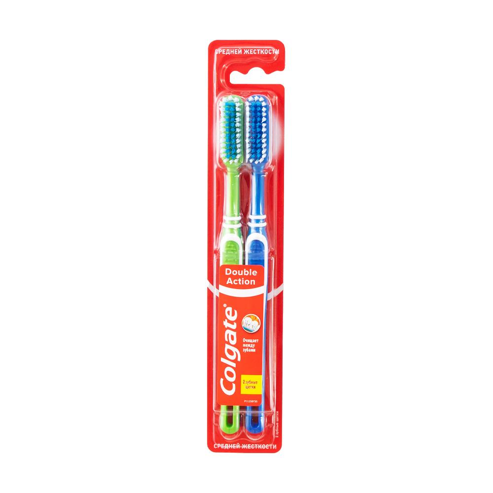 Зубная щётка, Colgate, 2 шт., в ассортименте