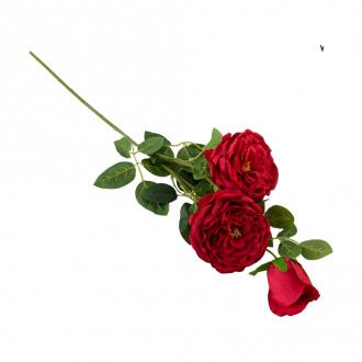 """Цветок искусственный """"Роза"""", 75 см, в ассортименте"""