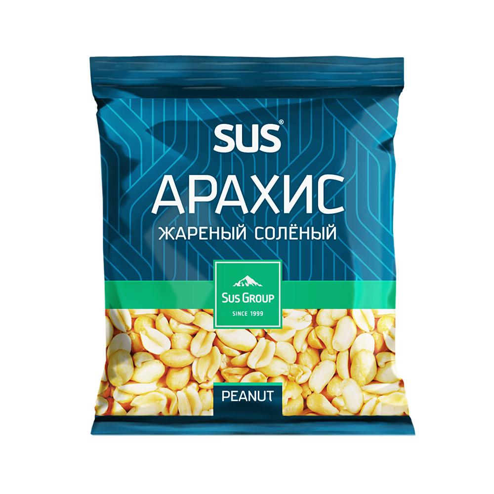 Арахис жареный, Sus Group, соленый, 200 г