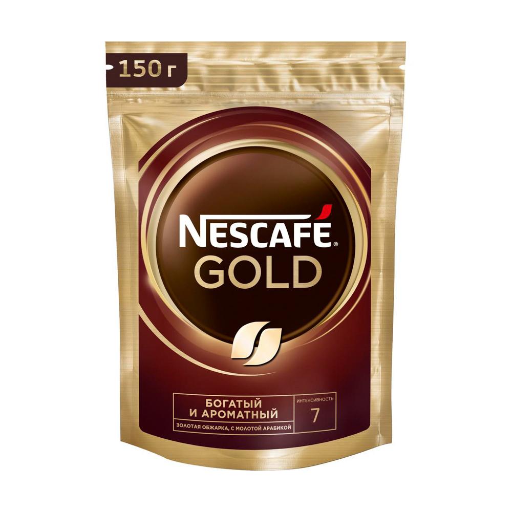 """Кофе натуральный растворимый """" GOLD"""", Nescafe, 150 г"""