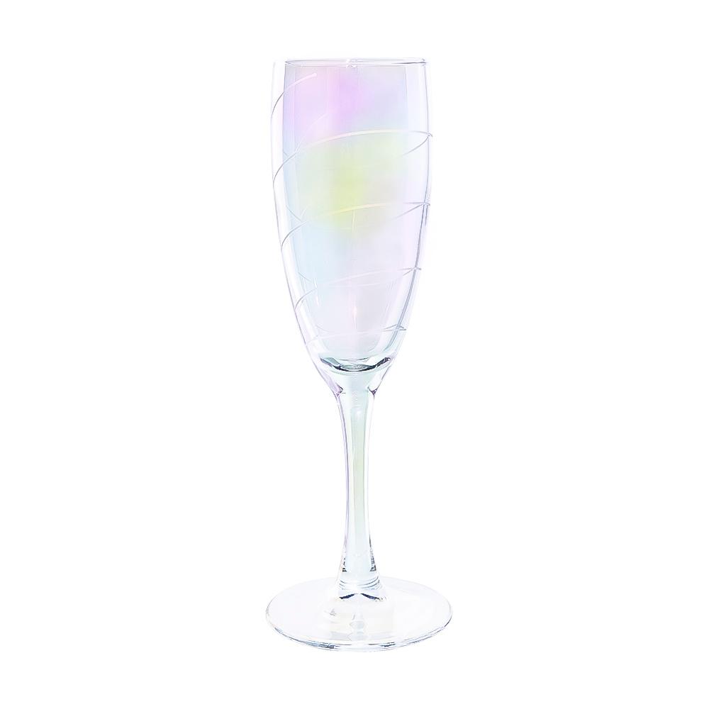 """Бокал для шампанского """"Радуга"""", O'Kitchen, 170 мл"""