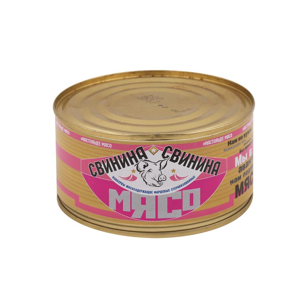 Тушёнка со свининой, 325 г