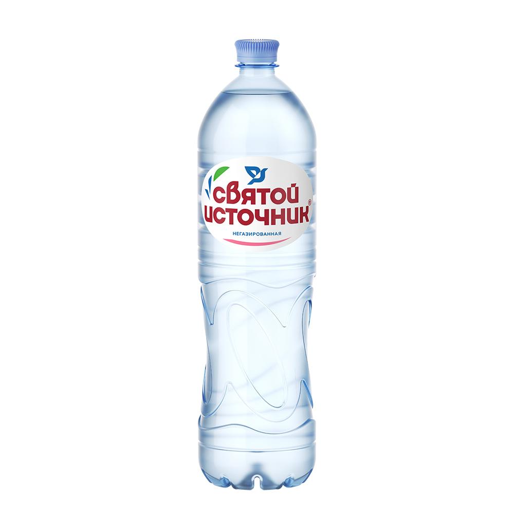 Вода негазированная, Святой Источник, 1,5 л