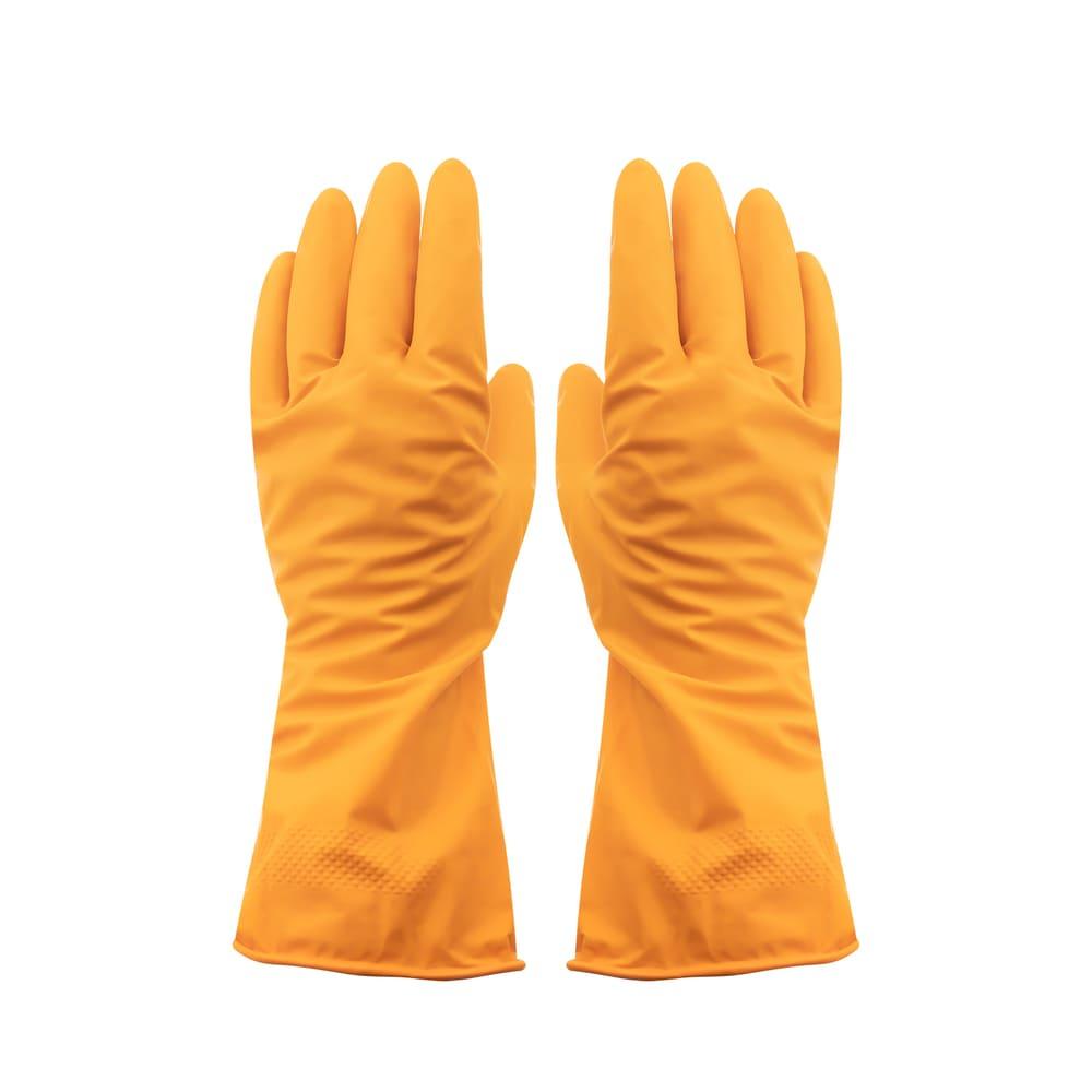 Перчатки хозяйственные резиновые, BonHome, 2 пары, в ассортименте