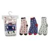 Набор женских носков, Lady Collection, 3 пары, в ассортименте
