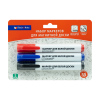 Набор маркеров для магнитной доски, Block&Note, 3 шт., в ассортименте