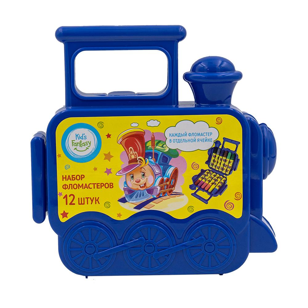 Набор фломастеров в чемоданчике, Kid's Fantasy, 12 шт., в ассортименте