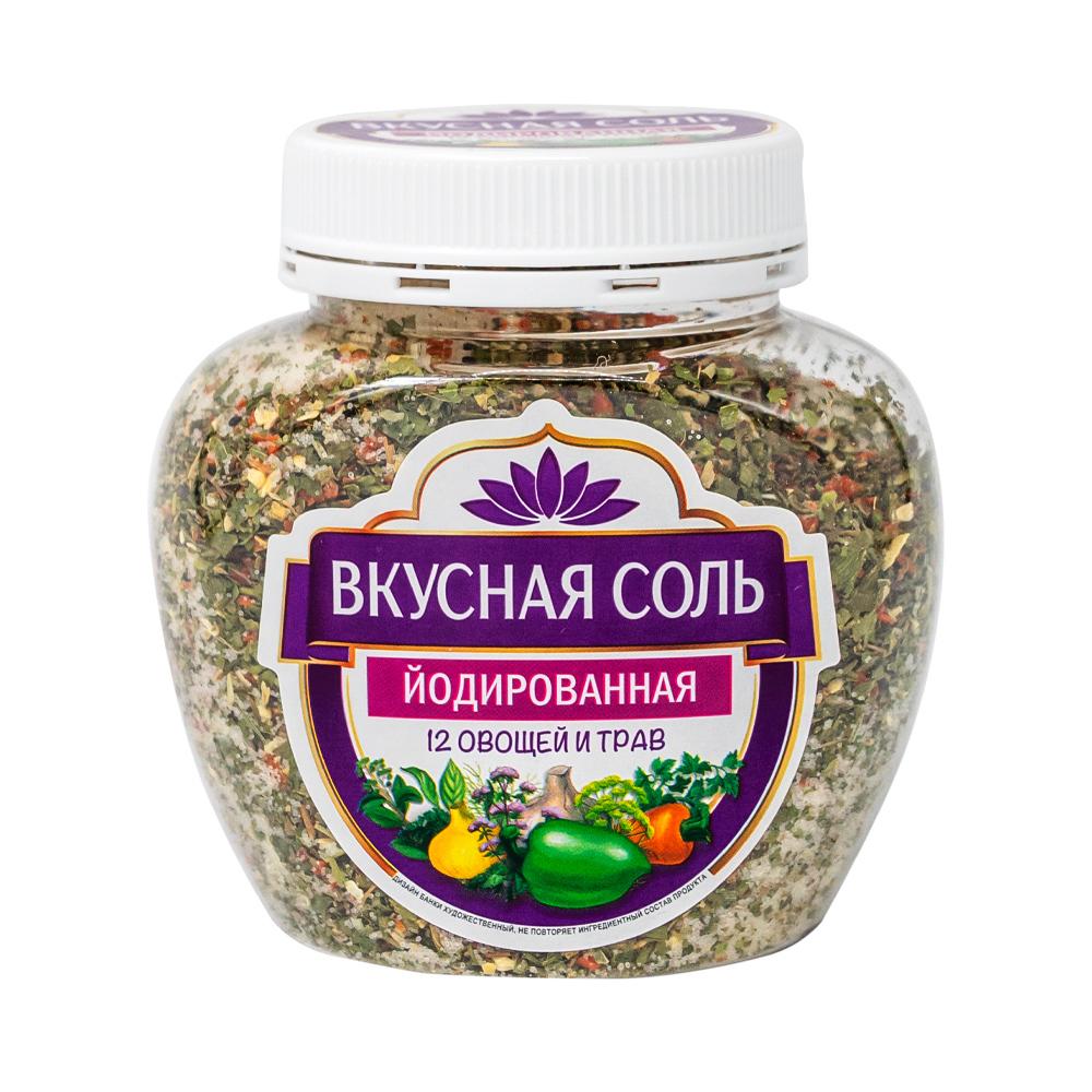 """Соль йодированная """"Вкусная"""", 400 г, в ассортименте"""