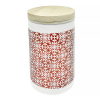 Свеча ароматизированная в керамическом подсвечнике