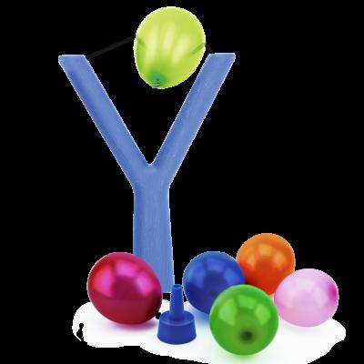 Набор: игрушка-рогатка + водяные бомбочки, 100 шт