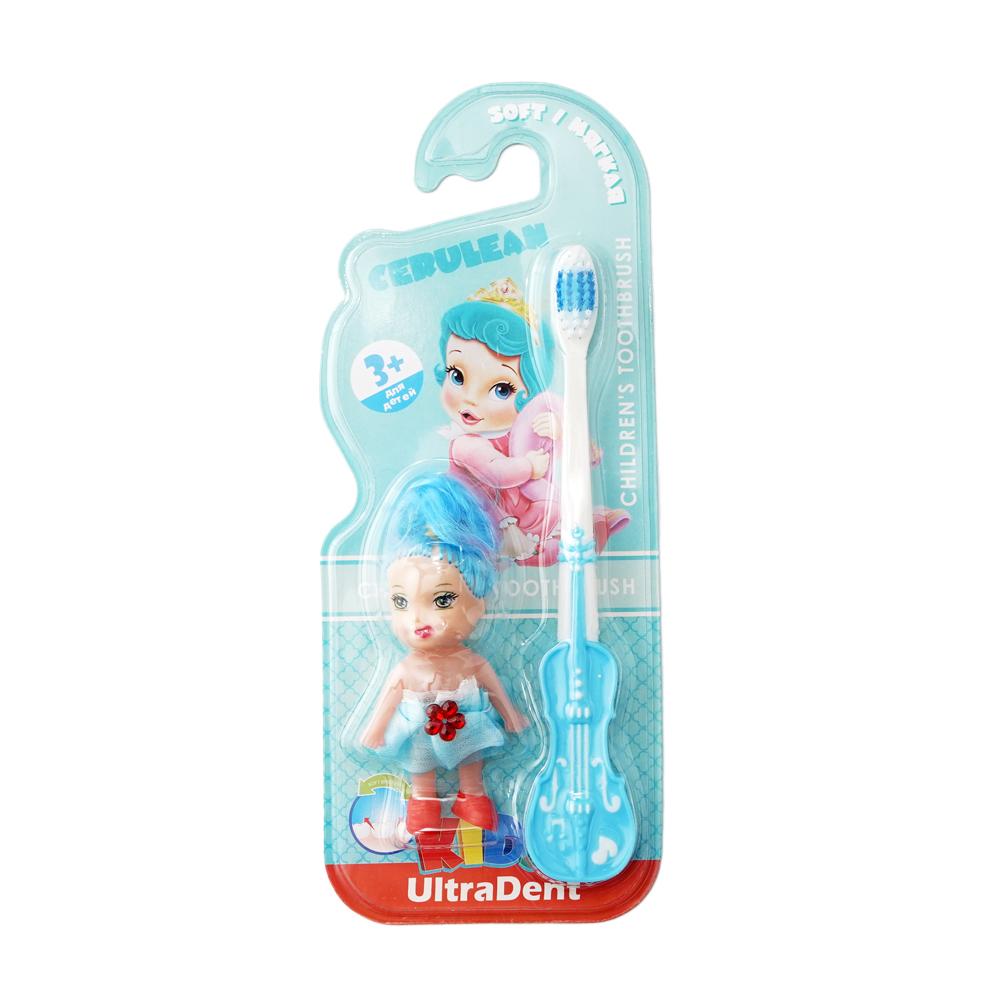 Детская зубная щётка с игрушкой, UltraDent Kid's, в ассортименте