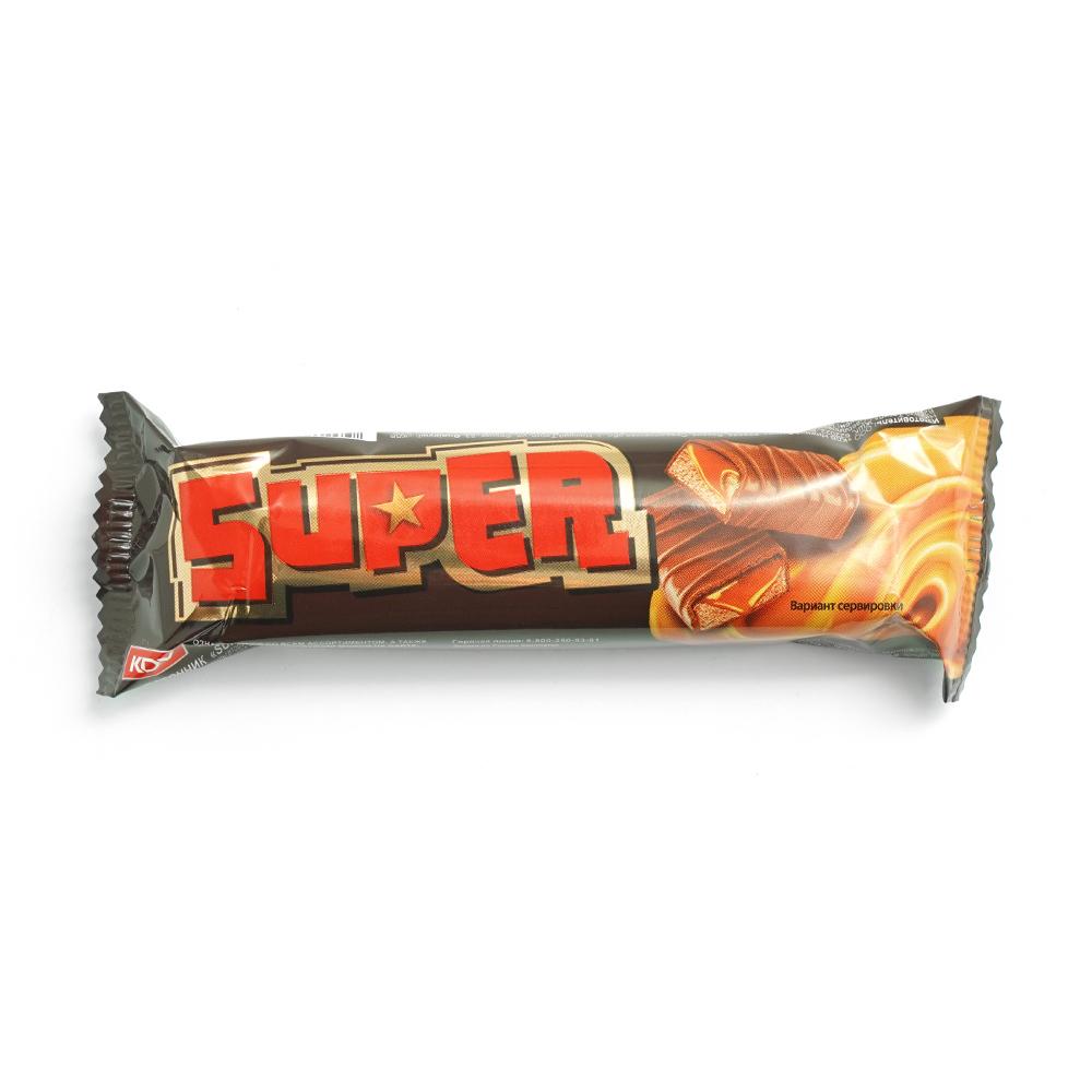 """Батончик """"Super"""" с нугой и мягкой карамелью, 40 г"""