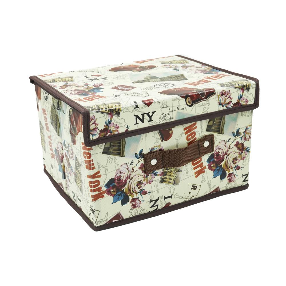 Коробка складная, Home Time, 26х20х16 см, в ассортименте