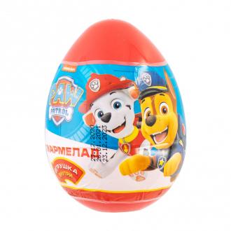 Пластиковое яйцо с сюрпризом