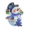 Баннер новогодний, Снежное кружево, 46х35 см, в ассортименте