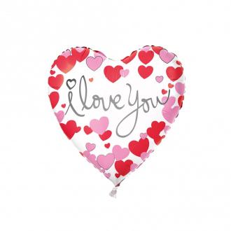 """Шар фольгированный """"Сердце"""", With Love, в ассортименте"""