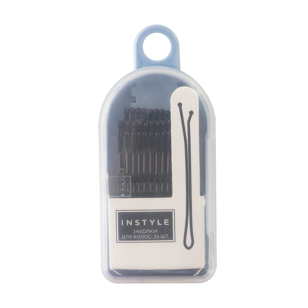 Заколки для волос, Instyle, 24 шт., в ассортименте