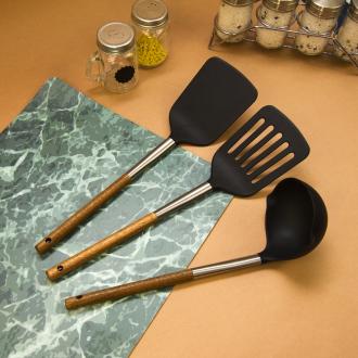 """Лопатка кухонная """"Акация"""", 33 см, в ассортименте"""