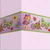 Наклейка декоративная, 120х15 см