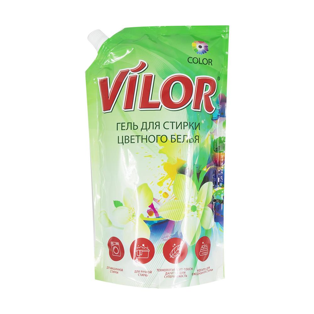 Жидкое средство для стирки, Vilor, 1 л, в ассортименте