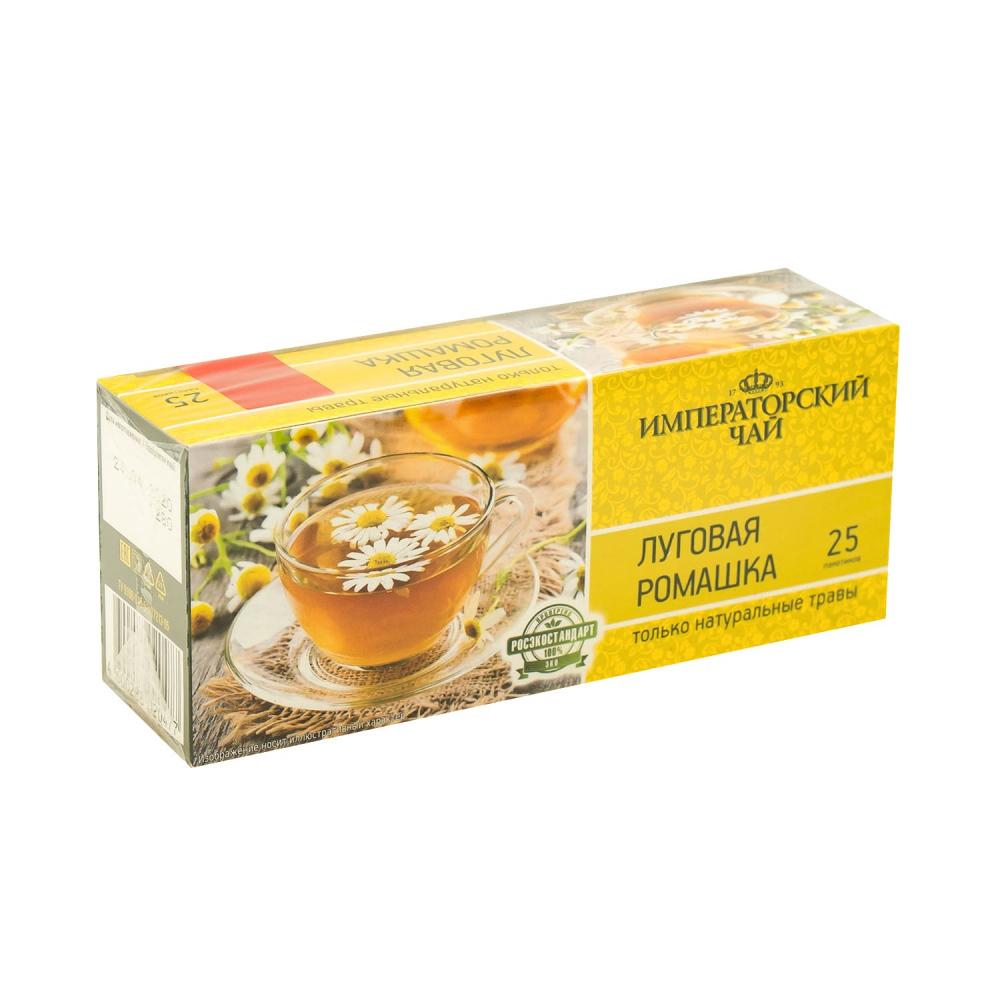 """Чайный напиток """"Луговая ромашка"""", Императорский чай, 25 пакетиков, 37,5 г"""