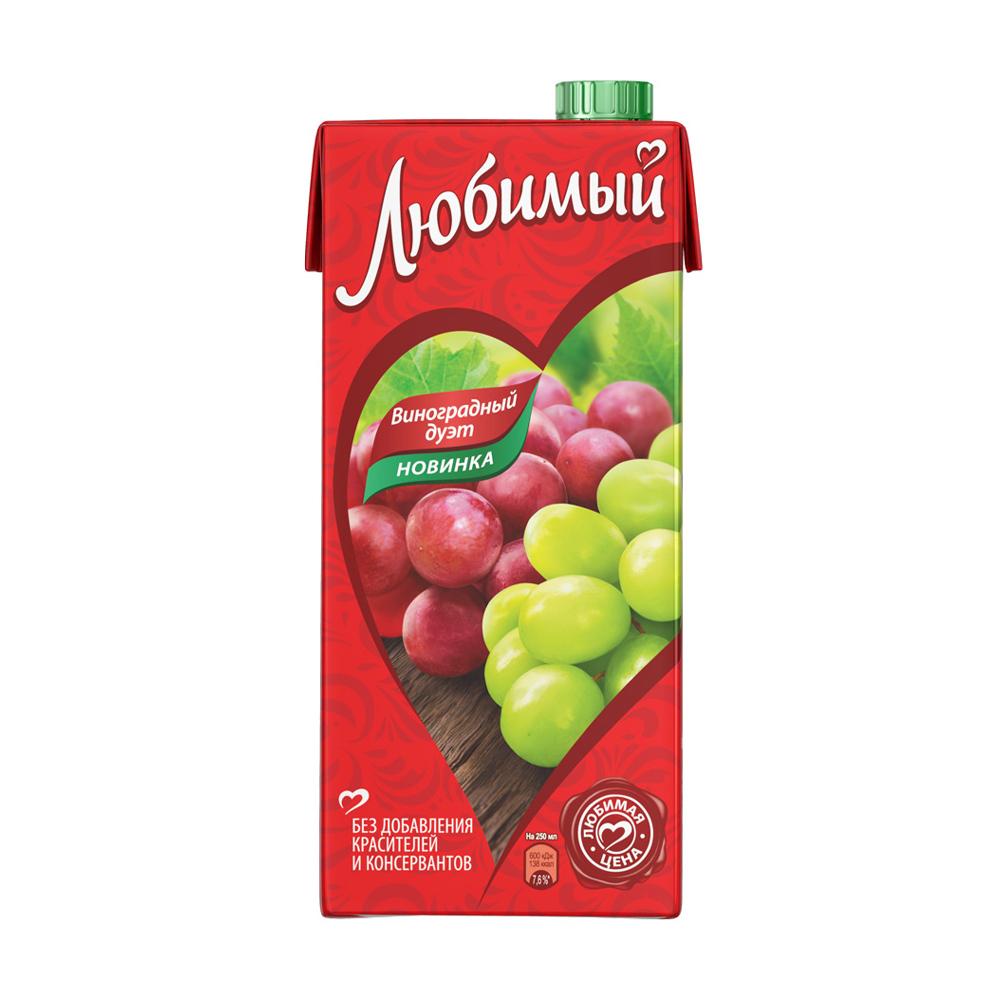 Напиток сокосодержащий, Любимый, 0,95 л, в ассортименте