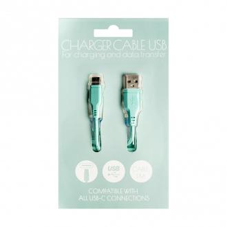 Kabelis USB/USB-C, 1A, 1m