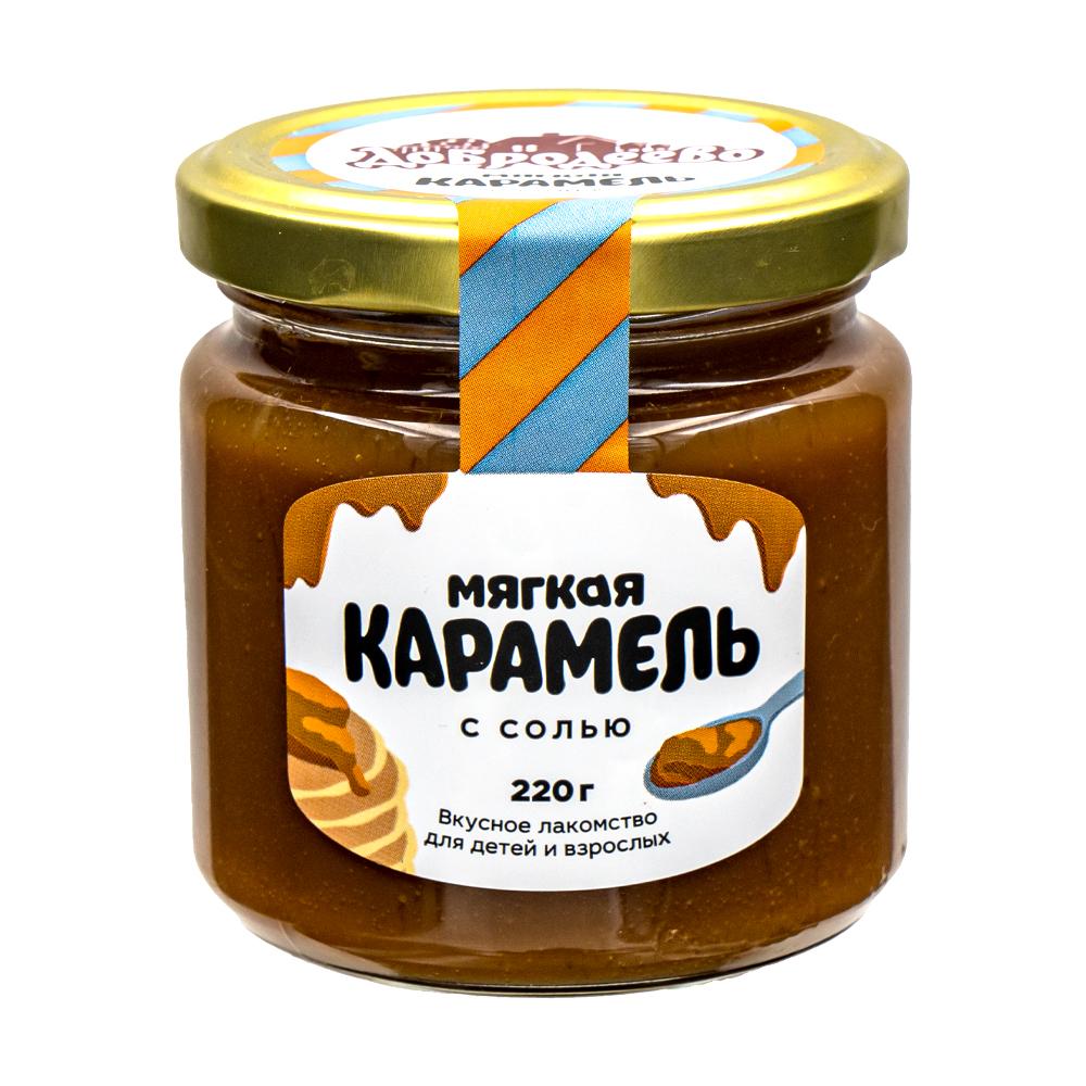 """Десерт кондитерский """"Мягкая карамель"""", Добродеево, 220 г"""