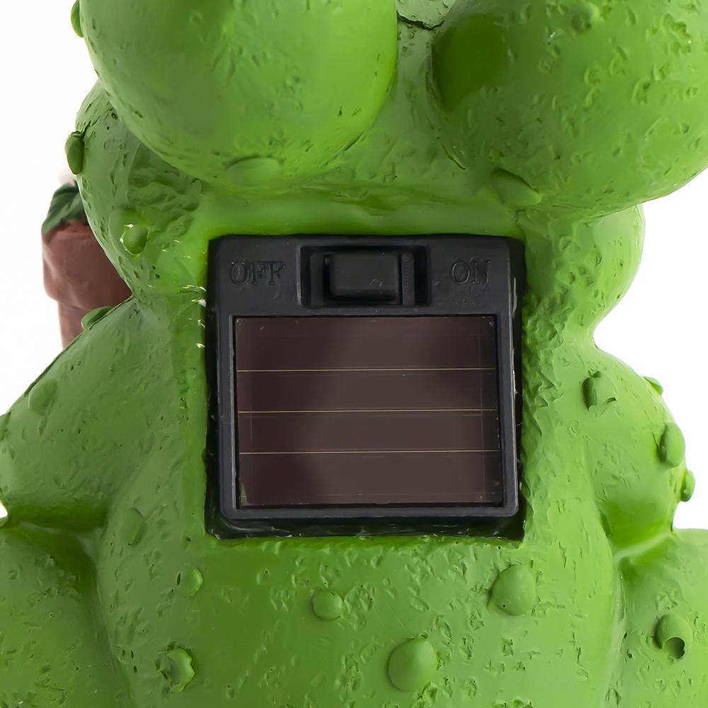 """Светильник садовый на солнечных батарейках """"Зверята"""", Greenart, в ассортименте"""