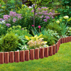 Заборчик пластиковый садовый, Greenart, 29х23,5 см, 3 шт.