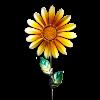 """Украшение декоративное """"Цветок"""", 60 см"""