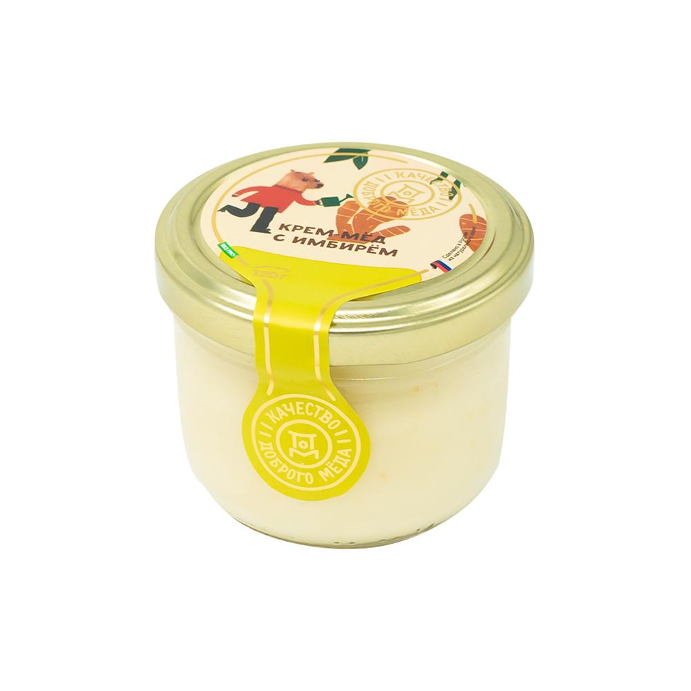 Крем-мёд с имбирём, 120 г