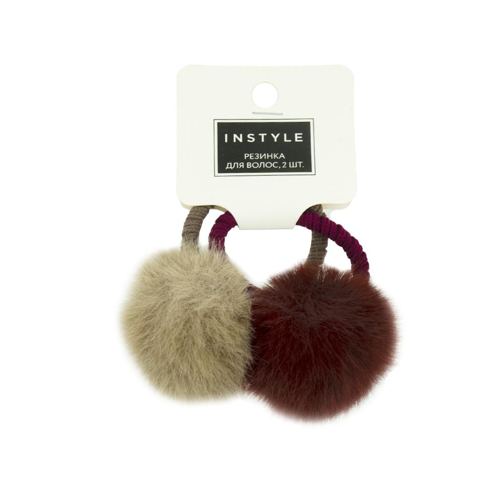 Резинка для волос, InStyle, 2 шт., в ассортименте