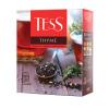 Чай чёрный с чабрецом и цедрой лимона, TESS, 100 пакетиков, 150 г