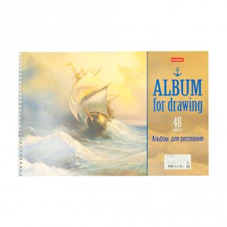Альбом для рисования А4, 48 л, в ассортименте