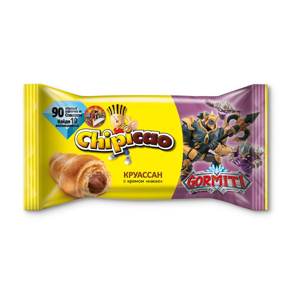"""Круассан, Chipicao, с кремом """"какао"""", 60 г, в ассортименте"""
