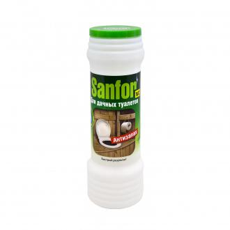 Средство для дачных туалетов Sanfor, 400 г, ЛК: 3022022: купить в Москве и РФ, цена, фото, характеристики