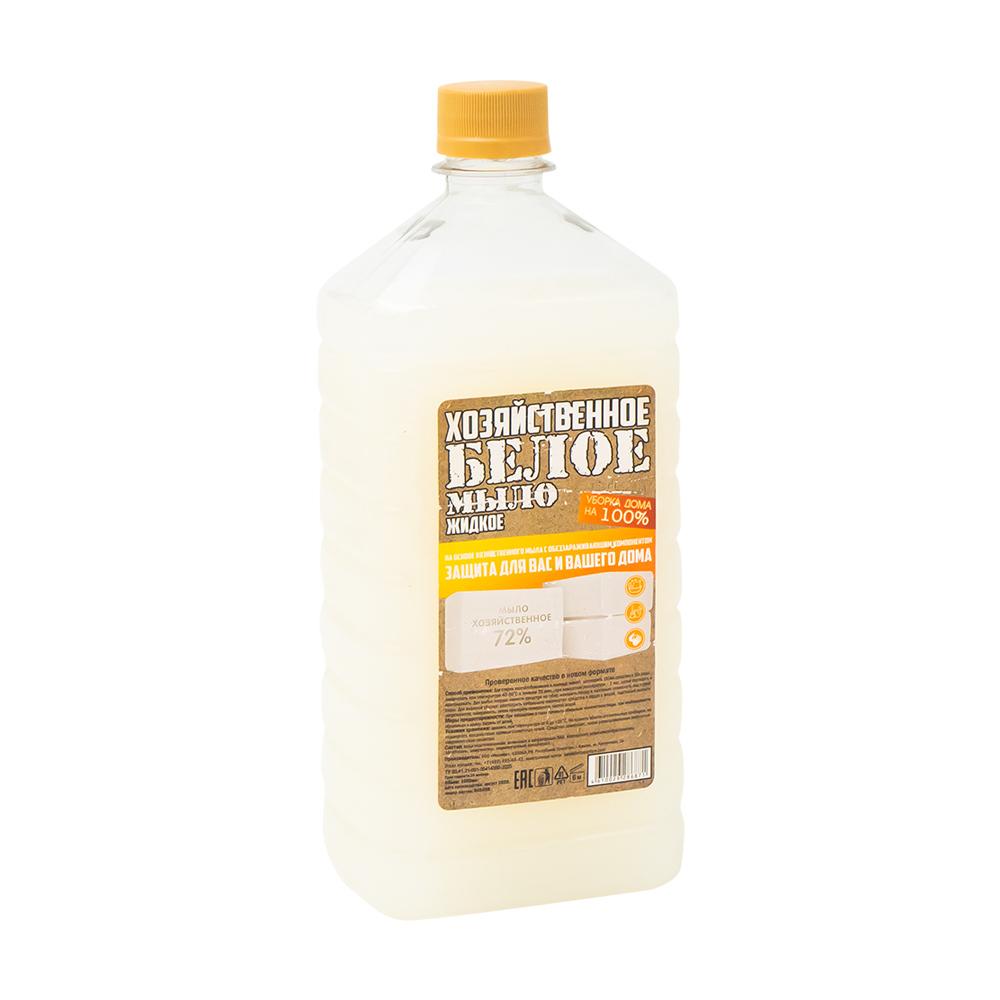 Хозяйственное мыло жидкое, 72%, антибактериальное, 1 л
