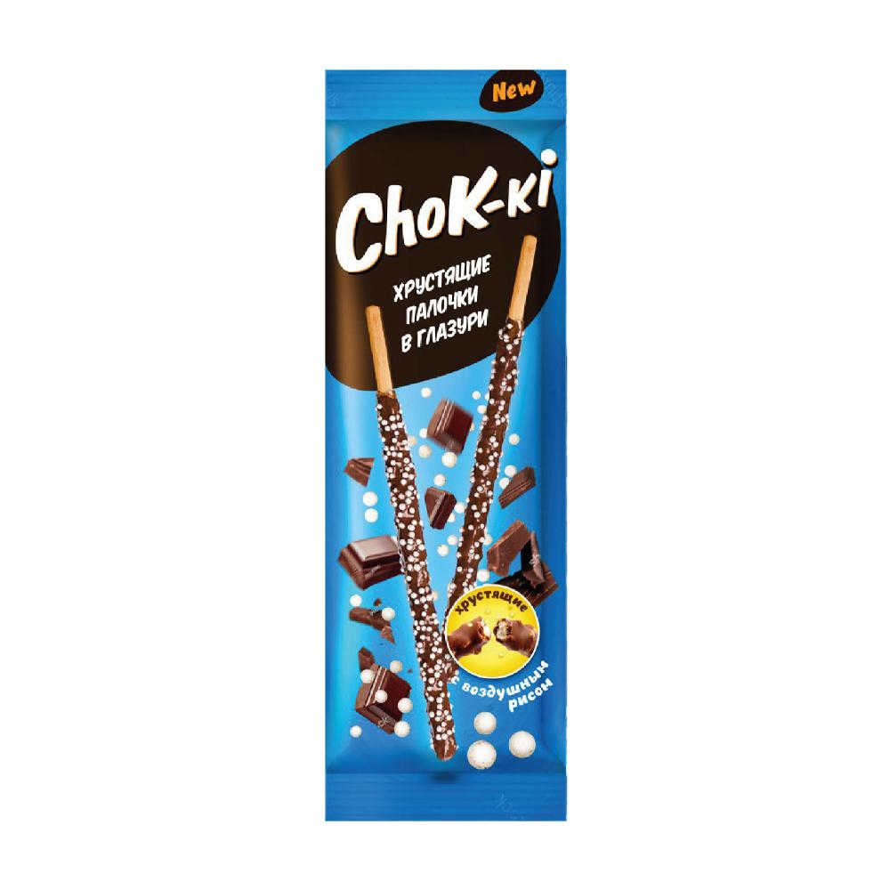 "Хрустящие палочки в глазури ""ChoK-ki"", 40 г, в ассортименте"