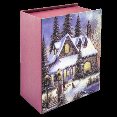 Коробка подарочная новогодняя