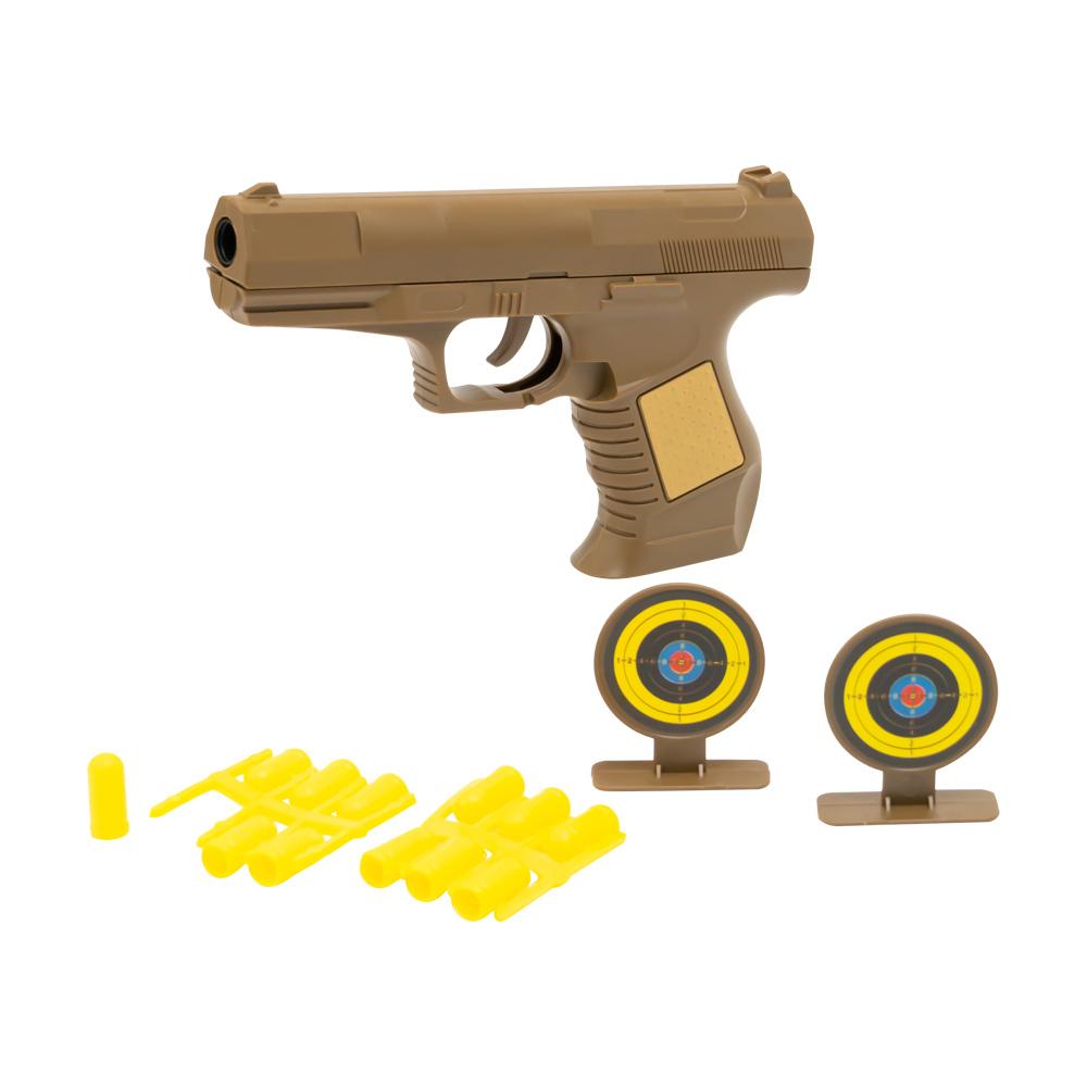"""Игровой набор """"Пистолет с пулями и двумя мишенями"""", Play the Game, в ассортименте"""