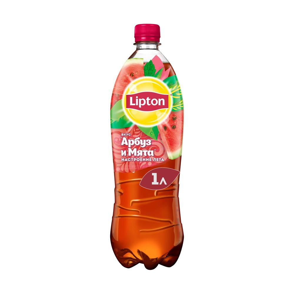 Холодный чай, Lipton, 1 л, в ассортименте