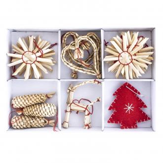 Набор новогодних украшений, 20 шт: купить в Москве и РФ, цена, фото, характеристики