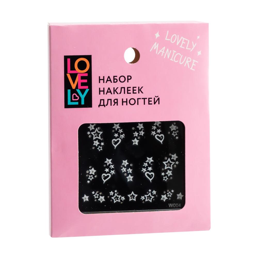 Набор наклеек для ногтей, Lovely, в ассортименте