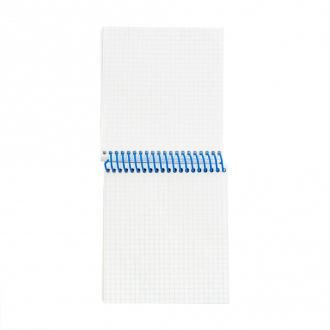 Блокнот на цветной спирали, А6, 80 листов