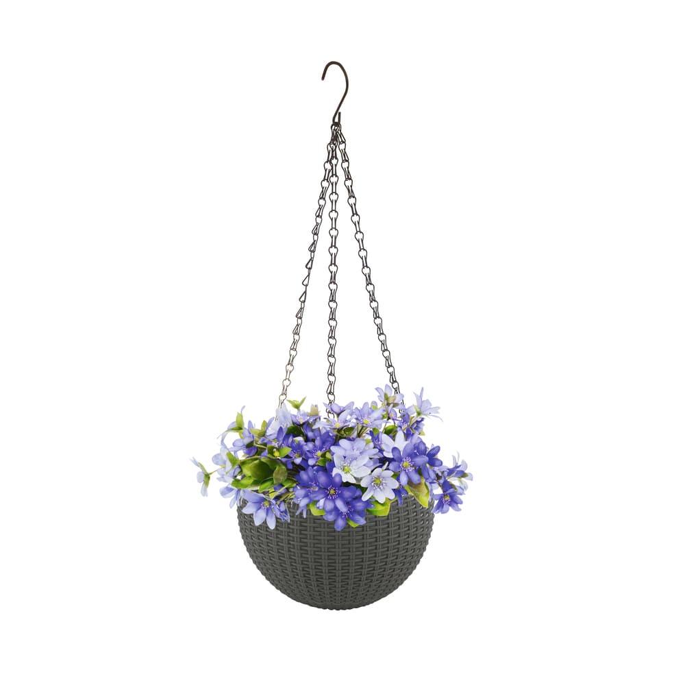 Кашпо садовое, Greenart, 21 см, в ассортименте