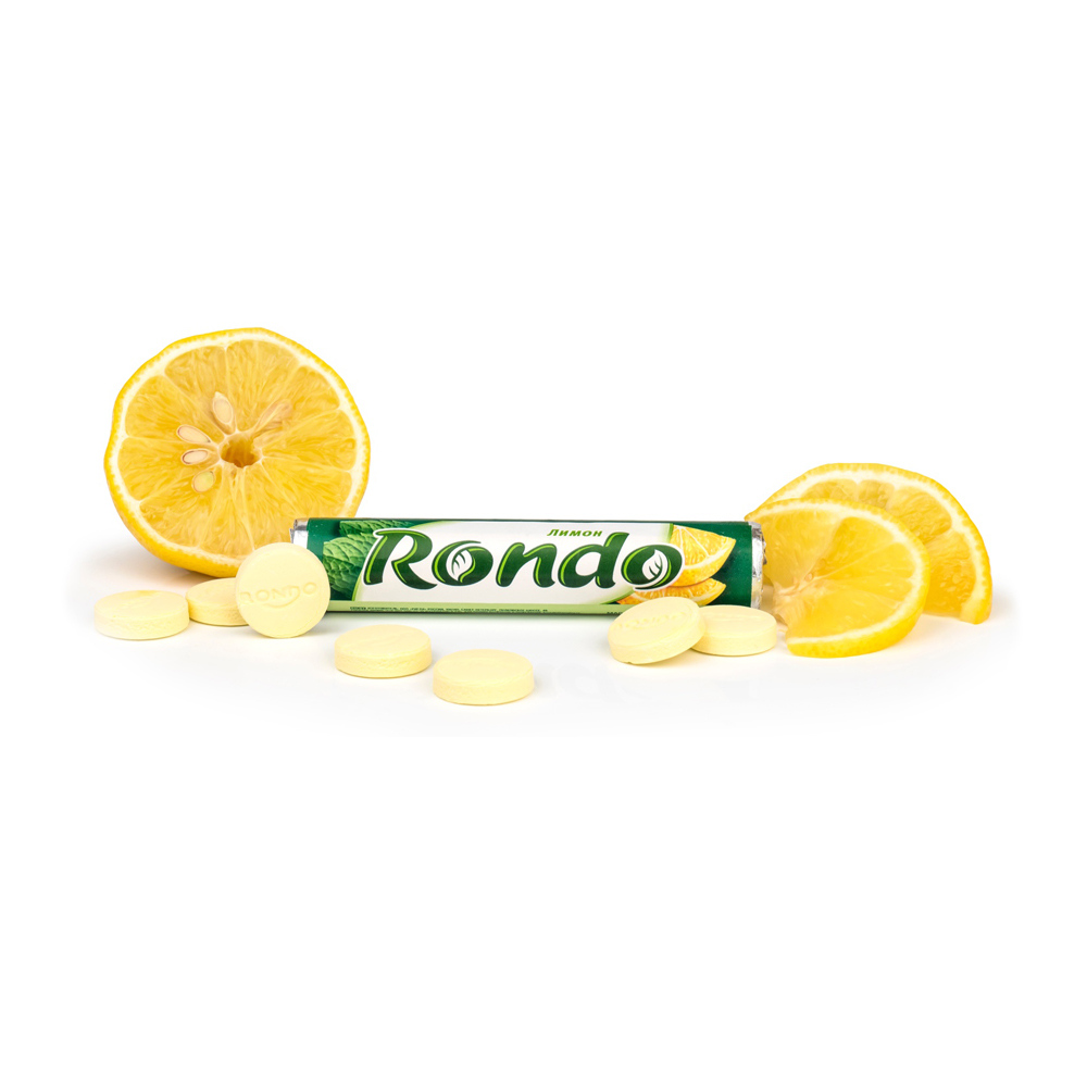 """Конфеты-драже, Rondo """"Лимон"""", 30 г"""