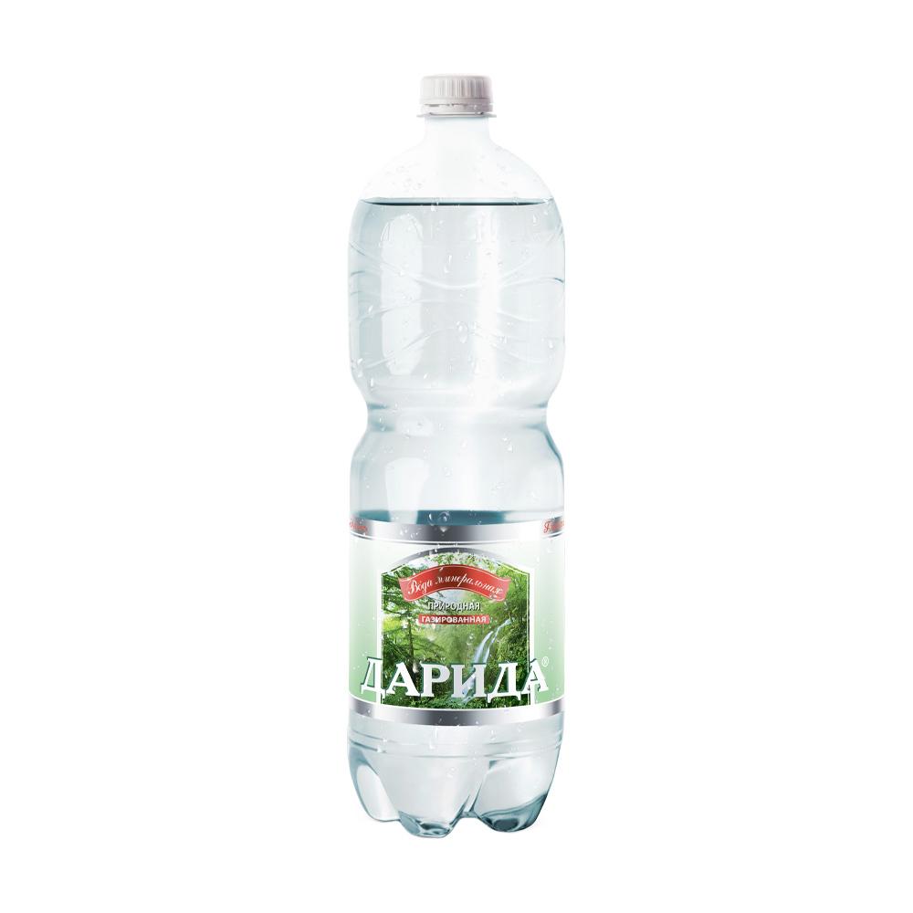 Вода минеральная природная, Дарида, газированная, 1,5 л